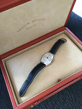 Franck Muller RARE Casablanca Chrono Platinum 5850 C CC watch box/papers