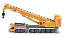 *NEW* SUPER SIKU 1886 Liebherr Mobile Crane 1:87 Diecast Model - Yellow Vehicle