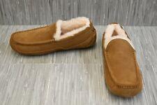 UGG Ascot 1101110 Moccasin Slipper, Men's Size 11, Chestnut