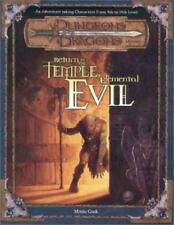 Return to the Temple of Elemental Evil (Dungeons & Dragons d20 3.0 Fantasy Rolep