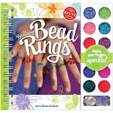 Brilliant Bead Ring Craft Activity Kit Jewelry NEW Klutz girls kids set art seed