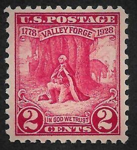Mr B's US Stamp #645 Washington Praying @ Valley Forge MNH VF/XF OG - FREE SHIP!