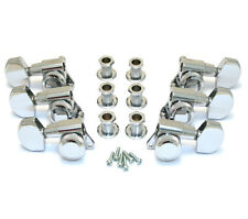 Schaller Chrome LOCKING 3x3 Tuners for Electric Guitar TK-0976-010
