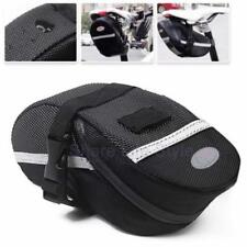 Brand New Cycling Bicycle Bike Outdoor Saddle Pouch Back Seat Bag Black BS