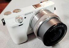 Sony Alpha Sony A6000 24.3MP Digital Camera - White (Kit w/ E PZ OSS 16-50mm...