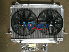 Alloy Radiator&Fans TOYOTA Landcruiser 80 Series FJ80R FZJ80R 4.5L 6Cyl Petrol