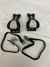 nylon Bicycle TOE CLIPS AND STRAPS Large Securi-Clip
