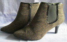 Marks and Spencer Zip Animal Print Boots for Women
