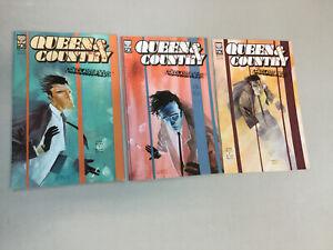 Queen & Country 1-3 Complete Set Oni Press Comics 1 2 3 Declassified 2002 (QC02)