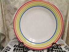 Fiesta Ware  WHITE Quatro SIGNATURE  Lines Luncheon  Plate  9 inch  NWT