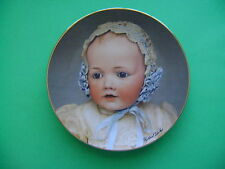 The Doll Collection Plate #3411 Baby HILDA of Mildred Seely 1982. PRIORITY Ship