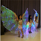 KID's Colorful Lights LED ISIS WINGS belly dance costumes light show Dance Props