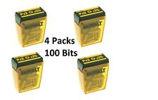 Dewalt PZ2 Pozi No. 2 25mm Screwdriver Bits Bulk Deal 100 Bits
