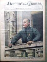 La Domenica del Corriere 5 Novembre 1933 Duce Mamme Pietro Cossa Di Lorenzo Papa