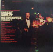 Robert Goulet  on Broadway Vol 2   LP