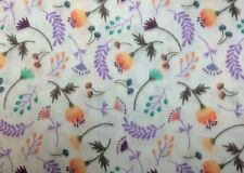 Camelot MAKE A WISH (Floral) 100% Cotton Premium DOUBLE GAUSE Fabric-1/2 Yd