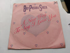 7'' Billy Preston & Syreeta - A New Way To Say I Love You - MOTOWN UK 1981 VG+