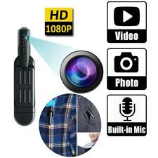 1080P HD Pocket Pen Camera Hidden Mini Body Video Recorder DVR Security Cam