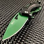 MTECH+SPRING+ASSISTED+TACTICAL+OUTDOOR+CAMPING+TOOL+FOLDING+POCKET+KNIFE+GREEN