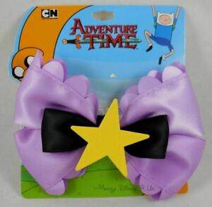 Adventure Time Lumpy Space Princess Cosplay Hair Bow Pin Clip Costume Dress-Up
