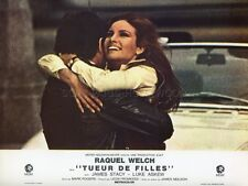 RAQUEL WELCH JAMES STACY TUEUR DE FILLES FLAREUP 1969 VINTAGE LOBBY CARD #7