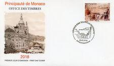 Monaco 2018 FDC Bridges Europa Bridge 1v Set Cover Architecture Stamps