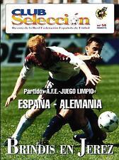 22.02.1995 Spanien - Deutschland in Jerez, Cover Matthias Sammer