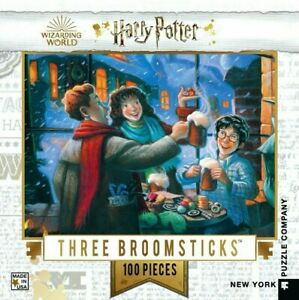 Harry Potter The Three Broomsticks 100 Piece Mini Puzzle 229mm x 178mm (nyp)