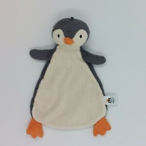 Jellycat Pippet Penguin Soother Soft Baby Toy Comforter Grey White