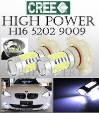 CREE COB LED 5201 H16 PSX24W 2504 11W Super White Replace Fog Light Bulb DRL T19