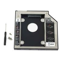 Optical bay 2nd HD Hard Drive Caddy For Dell E5400 E5410 E5420 E5500 E5510 E5520