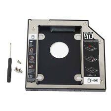 For Dell E5400 E5410 E5420 E5500 E5510 E5520 optical bay 2nd HD Hard Drive Caddy