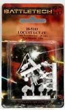 Battletech 20-5183 Locust LCT-1V (TRO Succession Wars) Light Recon Scout Mech
