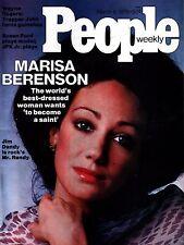 People Magazine March 8, 1976 Marisa Berenson Jim Dandy Wayne Rogers NO LABEL