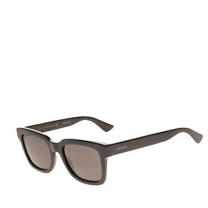 RRP €205 GUCCI Square Butterfly Sunglasses Optyl Glossy Logo Sides Made in Italy