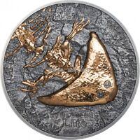 Diplocaulus - Evolution of life 1 oz silver coin Mongolia 2020