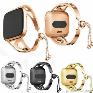 Lady Fashion Bracelet Stainless Steel For Fitbit VERSA 2 /Lite Bangle Band Strap