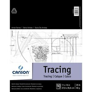 """Canson Artist Series Tracing Paper Pad 11x14"""""""