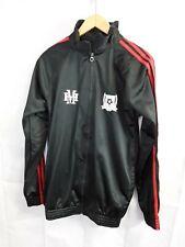 Boys Sportswear Jacket Bottoms Tracksuit Set Black Luton Zip Up Size L