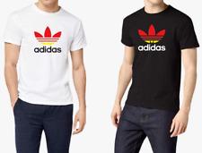 Tshirt uomo maglietta estate 2021 cotone con logo in stile Adidas