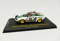 IXO 1:43 - RAC080 LANCIA STRATOS #10 Winner Rally Monte Carlo 1976 Munari Maiga