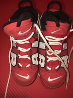 "Nike Air More Uptempo QS Shoe's ""GS"" University Red (CD9403 600) Sz 12 C"