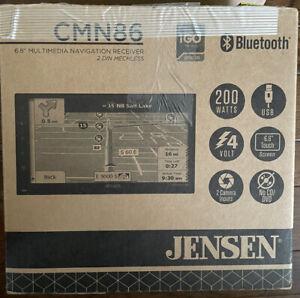 Jensen CMN86 6.8 inch LED Multimedia Touch Screen Double Din Car Stereo