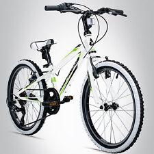24 Zoll Mountainbike Kinderfahrrad Bergsteiger Kansas Shimano Kenda MTB Fahrrad