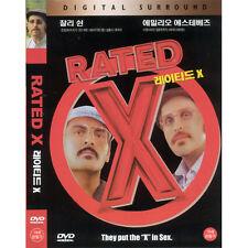 Rated X,2000 (DVD,All,New) Emilio Estevez, Charlie Sheen, Rafer Weigel