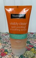 NEUTROGENA VISIBLY CLEAR SPOT PROOFING SMOOTHING FACE SCRUB 5.07 OZ