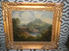 Antique Original Oil PAINTING by Drake
