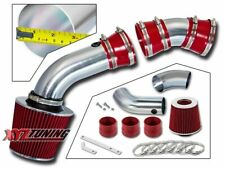 "RED 96-99 Chevy C1500 K1500 Suburban 5.0/5.7 V8 Air Intake + Filter 3"""