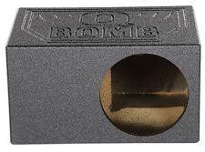 "Rockville RQB10 Single 10"" Vented Ported Subwoofer Sub Box Enclosure 1.4 cu ft"