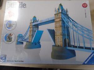 Ravensburger Tower Bridge of London 3D Jigsaw Puzzle 216 Pieces